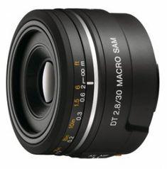 Sony 30mm Macro Lens for Sony A77