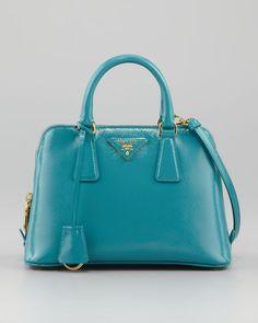 Saffiano Mini Promenade Bag - Lyst