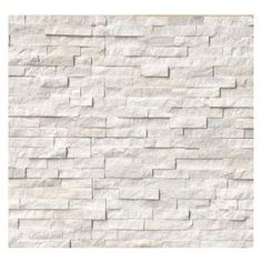 Premier Worldwide - Arctic White Ledger Panel 6X24 Split Face - Arctic White quartzite ledger panels feature striking and dynamic white stone. This split face finish is natural and ideal for interior and exterior wall design projects. Accent a backsplash or planter wall with these snowy white panels. We recommend both interior and exterior applications in commercial and residential projects.