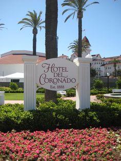 Hotel Del Coronado. Such a beautuiful place