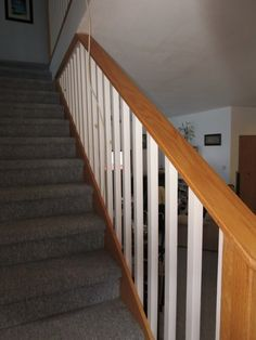 6. Compositional Principles + Elements: The stair treads and spindles create patterns, shapes, and give a rhythm to the image. The line of the hand railing and the reduction in size of the receding stairs gives depth and direction.
