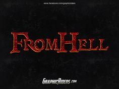 GraphicRiders | Horror style – From Hell (free photoshop style)