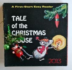 altered_vintage_Christmas_book