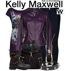 9f0751140d0 Inspired by Dana DeLorenzo as Kelly Maxwell on Ash vs Evil Dead. Rocker  Chic