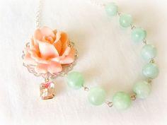 Bridesmaid Necklace  Wedding Jewelry Asymmetrical by EternalEden, $38.00