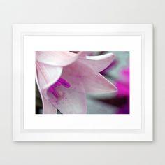 "Secrets  by Angela Bruno  Framed Art Print / Vector White MINI (12"" x 10"")  $33.00"