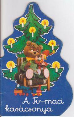 A TV-maci karácsonya Retro 1, Old Toys, Minion, Childhood Memories, Cartoon, Christmas Ornaments, History, Tv, Holiday Decor