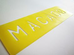 Logo Stencil Macaco Press | Stay Hungry, Stay Foolish