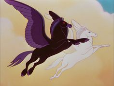 """Screencap Gallery for Fantasia Bluray, Disney Classics). Disney animators set pictures to Western classical music as Leopold Stokowski conducts the Philadelphia Orchestra. """"The Sorcerer's Apprentice"""" features Mic Disney And Dreamworks, Disney Pixar, Walt Disney, Disney Couples, Fantasy Creatures, Mythical Creatures, Disney Magic, Disney Art, Horses"""