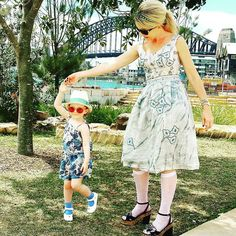 Back home to our beautiful harbour...and of course more dancing   #hellosydney #sydneysider #sydneyharbour #sydneylocal #barangaroo #mybarangaroo #motheranddaughter #dancing #sydneyharbourbridge #fashiongram #fashion #toddlerlife #toddlerstyle #fashionkids #prada #zimmermann #shestwo #minime by jowalkerxo http://ift.tt/1NRMbNv