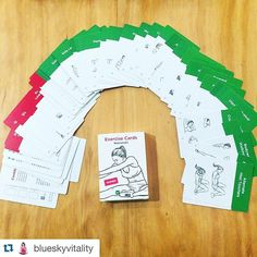 Repost @blueskyvitality: New forms of torture (I mean fun) for my clients. A pack of cards with 40 exercise and 10 stretches. Lots of #2016 fun!! #fitness #workout #workoutlabs #love #choosehealthjoyvitality #blueskyvitality