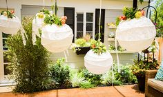 Home & Family - Tips & Products - DIY Lace Lanterns For Wedding with Jessie Jane | Hallmark Channel