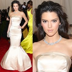 Kendall also had inexplicably messy hair on the red carpet. Her hairdo looked more windblown than blown-out. Perhaps it got messed up when she lay down on her car seat?
