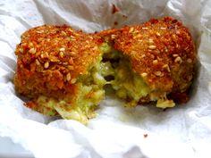 Croquetas vegetarianas: unas increíbles croquetas de brócoli con queso gorgonzola. Receta con muchas fotos del PASO A PASO