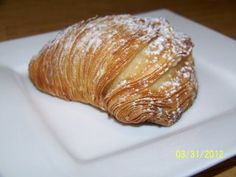 Sfogliatella. This incredible dessert treat is sooooo good! The ricotta is sweet and creamy, while the candied fruit inside is such a lovely touch! Worth trying!!