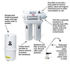How To Choose The Best Reverse Osmosis System Read more: http://www.reverseosmosisguides.com/choose-best-reverse-osmosis-system/ Generally, reverse osmosis helps you harvest pure clean water from a contaminated one through pressure, using a semi-permanent membrane.  The membrane removes dissolved solids composed of chemicals, minerals, microorganisms, metals, and salts.