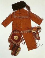 vintage davy crockett costume for boys - Google Search