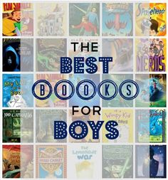Best Books for Tween and Teenaged Boys.