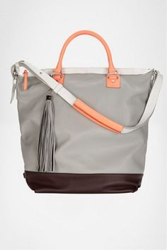or this nice grey and peach dvf bucket tote has my heart too. splurge.