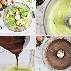 Healthy Chocolate Avocado Pudding I howsweeteats.com