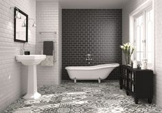 Bathrooms : Nice Bathroom Tile Trends With Bathroom Tile Trends: 2014 Tile Trends KitchAnn Style,