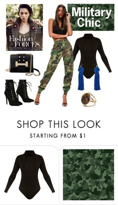 Want to look like a military chic? 😍❤️ Then check out the outfit here - http://www.stylebankbyb.com/outfits/military-chic