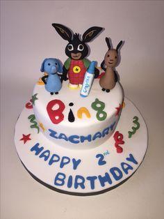 Bing fan cake