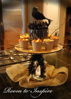 Great Way To Display Candy Corn and Small Treats