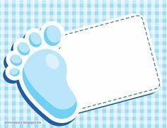69 Ideas for baby shower invitaciones boy layout Baby Shower Tags, Baby Shower Favors, Baby Shower Themes, Baby Boy Shower, Baby Shower Decorations, Dibujos Baby Shower, Imprimibles Baby Shower, Baby Shower Invitaciones, Baby Boy Scrapbook