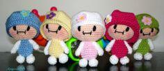 muñecas amigurumis paso a paso - Buscar con Google