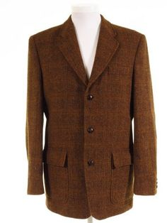 Harris Tweed jacket w/ elbow patches + flap patch pockets Tweed Jackets, Harris Tweed Jacket, Tweed Run, Tweed Suits, Elbow Patches, Classic Man, Formal Wear, Vintage Men, Men's Style
