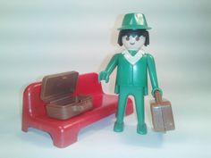 PLAYMOBIL VINTAGE. DIF REF 3321 .KICLY  EL PASERO EN LA ESTACION 12 e #playmobil #ventasplaymobil