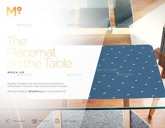 "Check out new work on my @Behance portfolio: ""The Placemat on the Table Mock-up"" http://be.net/gallery/50778653/The-Placemat-on-the-Table-Mock-up"