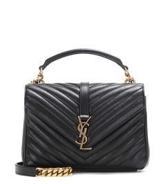 d30c484223b5f1 Saint Laurent's Collège Monogram shoulder bag is the investment piece  that's topping everyone's wish list this season: we adore the black