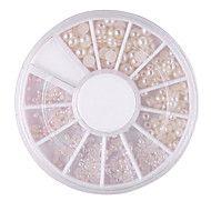 [BlackFridaySale]Mixed-Taille Semicircle White Pe... – EUR € 0.85