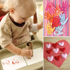 Manualidades por S.Valentín - Valentine´s crafts for children