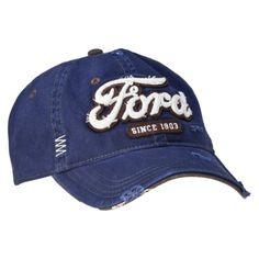 Men's Ford Logo Baseball Hat - Navy