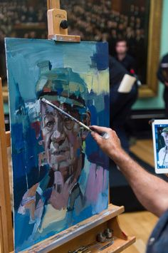 Christian Hook - Sky Artist Portrait of the Year - Sir Ian McKellan