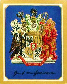 Wappen der Graf August Neidhardt von Gneisenau / Coat of Arms of The Count August Neidhardt von Gneisenau / Armas del Conde August Neihardt von Gneisenau.