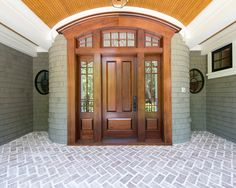 traditional front doors design pictures remodel decor and ideas page 2 - Front Door Design Ideas