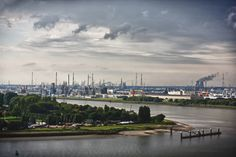 """""""Antwerp - The Port"""" by Alex ADS, via 500px."""
