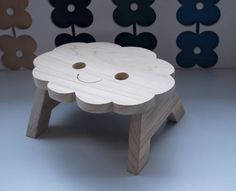 Hello, Iam a step- up stool. TOGETHER WE CAN REACH FOR THE SKY! Iam here to help you to get further up in life. I can help you get to the kitchen counter, or the bathroom sink, you name it. Iam handmade from tulip tree wood an Iam always HAPPY