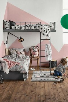 When decorating a kid's room, designers (and design-minded parents) tend to give themselves more creative license to let loose and fill the space with their most whimsical and imaginative ideas. To borrow some of these bold ideas and inventive uses for little spaces, we're scouting out children's rooms with style lessons to spare. Grown-Up Decorating Ideas Pulled from Kids Rooms that actually work for added whimsy.