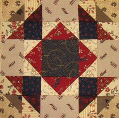 Scrap basket block #2. Lisa Bongean.