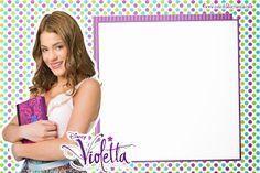 Invitación del partido Violetta Para Imprimir Gratis