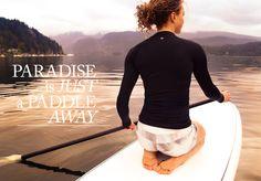 love paddle boarding!