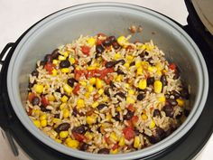 Rice Cooker Beans and Rice