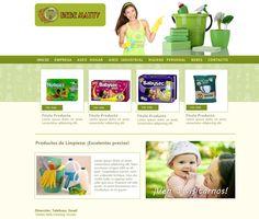 Maqueta de Sitio Web para Bebe Matty