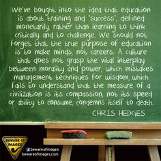 education...