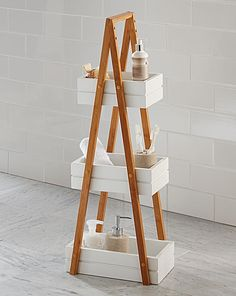 Bamboo 3 Tier Caddy | Home Essentials
